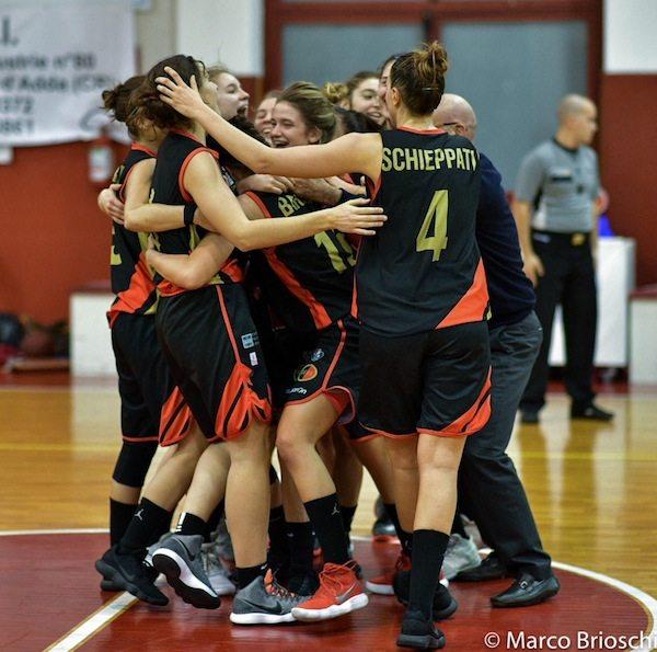 Lega Basket Femminile A2 2017-18: il Geas ha vinto a Crema dopo 2 OT