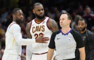 NBA 2017-18: nella notte del 28 Novembre prima storica espulsione per King James, ma Cleveland vince con un Super Love