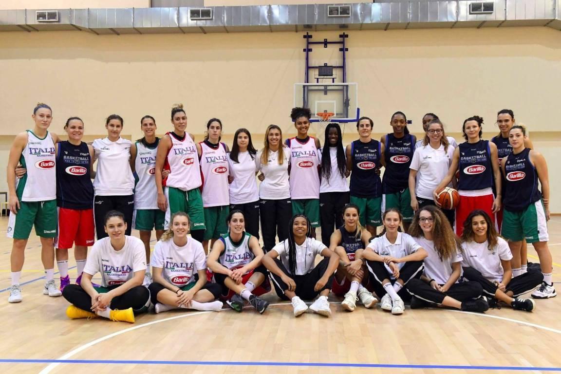 Nazionali 2017-18: le sfide dell'Italia per EuroBasket Women 2019 in diretta solo su Sky Sport