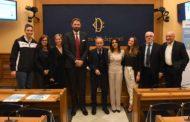 Giovanili 2017-18: presentato stamane il progetto EASYBASKETinCLASSE alla Camera della Repubblica
