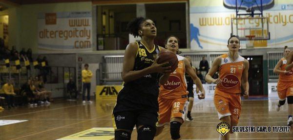 Lega Basket Femminile A2 2017-18: le Lupe San Martino cedono in casa davanti alla Delser Udine