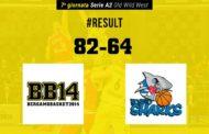 A2 Est Old Wild West 2017-18: prima storica vittoria in casa della Bergamo Basket che supera Roseto