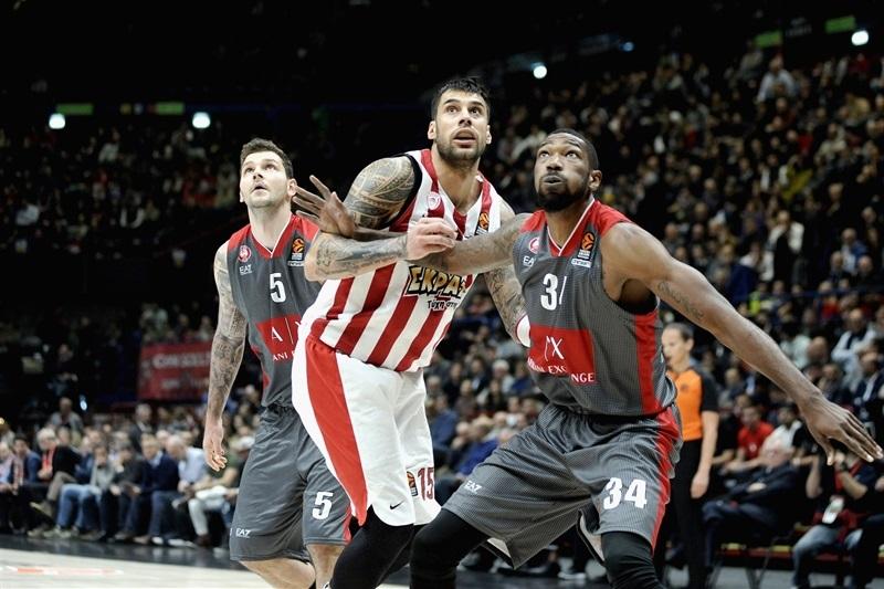Turkish Airlines Euroleague 2017-18: Milano lotta ma al Forum passa l'Olympiakos
