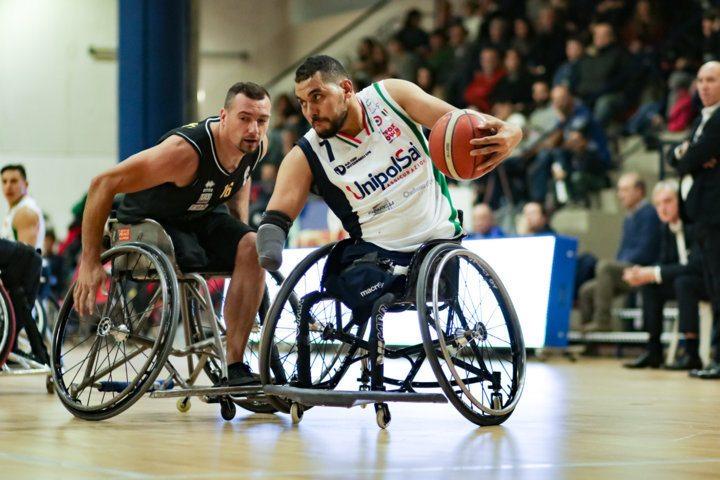 Basket in carrozzina #SerieAFipic 2017-18: netta vittoria dell'UnipolSai Briantea84 nel big-match vs la Deco Group Amicacci Giulianova 71-36