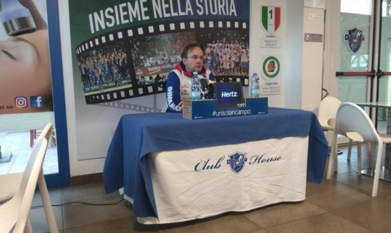 Lega A PosteMobile 2017-18: Federico Pasquini vuole la sua Sassari vs l'Happy Casa Brindisi con lo stesso spirito di Varese
