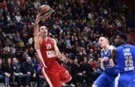 Euroleague 2017-18: Milano paga un primo periodo pessimo vince la Stella Rossa 88-91