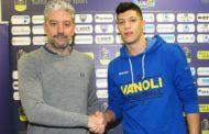 Lega A PosteMobile 2017-18: Simone Fontecchio neo-acquisto della Vanoli Cremona è stato presentato oggi alla stampa