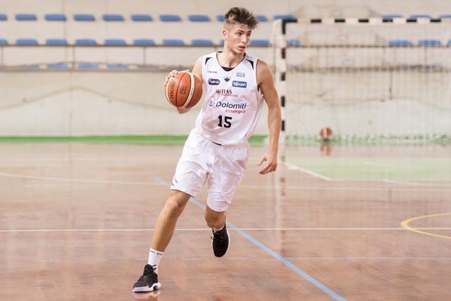 Euroleague Adidas Next Generation 2017-18: la Dolomiti Energia Trentino si complimenta con Luca Conti per la prestazione di Belgrado