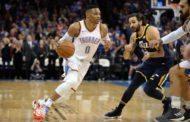 NBA 2017-18: nella notte del 05 Dicembre i Thunder con un super Westbrook rimontano da -17 e vincono