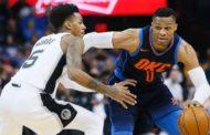 NBA 2017-18: nella notte del 3 Dicembre Westbrook conduce OKC alla vittoria con la 7a tripla-doppia di stagione