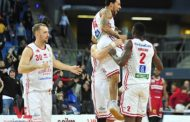 LBA - Legabasket A PosteMobile 2017-18: l'Openjobmetis Varese rimonta nel finale ma si arrende alla Vuelle Pesaro