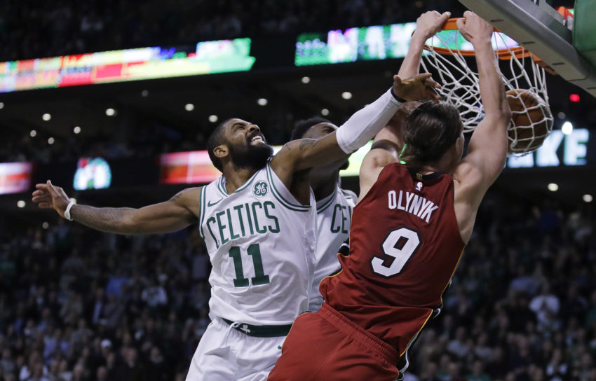 NBA 2017-18: nella notte del 20 Dicembre l'ex Olynyk trascina Miami alla vittoria contro Boston
