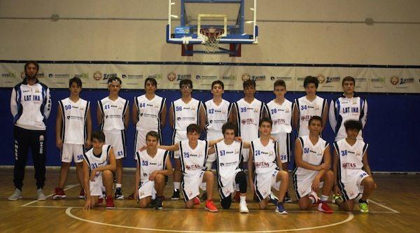Giovanili Maschili 2017-18: lotta bene solo per 30' il team U15M Regionale del Latina Basket poi deve cedere al Basket Scauri