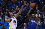 NBA 2017-18 nella notte del 10 Gennaio sorpresa all'Oracle Arena, vincono i Clippers