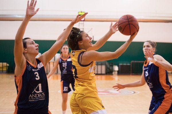 Lega Basket Femminile A2 girone Sud 2017-18: il San Raffaele vince in casa della Carispezia Cestistica Spezzina