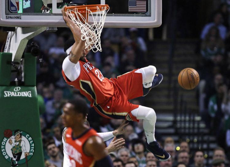 NBA 2017-18 nella notte del 16 Gennaio un super Davis da 45 punti, sbanca il TD Garden