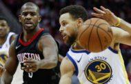 NBA 2017-18: nella notte del 4 Gennaio i Warriors vincono a Houston, assenti illustri Durant ed Harden
