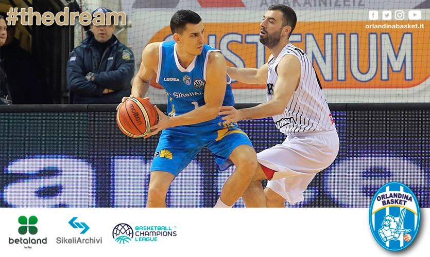 Basketball Champions League 2017-18: una rimaneggiata SikeliArchivi Capo D'Orlando cede in Grecia al PAOK 79-61