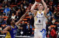 Basketball Champions League #Round13 2017-18: la SikeliArchivi regge per 35' poi deve cedere al Ventspils