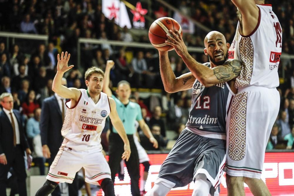 Basketball Champions League 2017-18: sconfitta di misura per la Reyer Venezia in casa del SIG Strasburgo 70-67