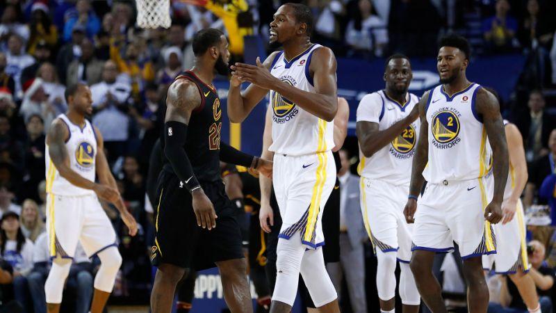 NBA 2017-18 nella notte del 15 Gennaio i Warriors chiariscono: