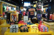 NBA 2017-18 i dati del merchandise per il sito online NBAStore.eu delle vendite in Europa ed Italia