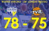 A2 Est Old Wild West 2017-18: Verona fa suo il derby contro la lanciatissima Treviso