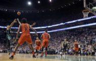 NBA 2017-18 nella notte del 4 Febbraio buzzer beater per Al Horford e vittoria per i Celtics