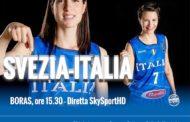 FIBA EuroBasket Women 2019: sabato 10 febbraio le Azzurre impegnate nel 3° match in Svezia