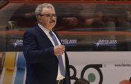 Lega A PosteMobile 2017-18: la Vanoli Cremona con la Diener Connection e coach Meo Sacchetti al PalaSerradimigni vs la Dinamo Sassari