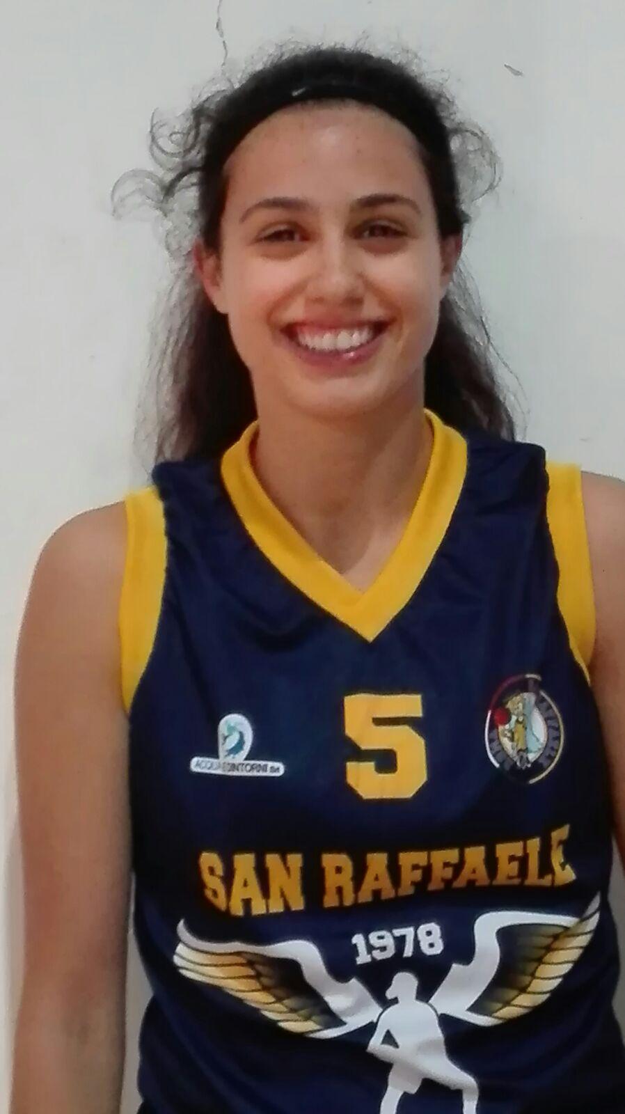 Lega A2 Femminile Mercato 2017-18: arriva Selene De Santis al San Raffaele Basket Roma