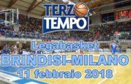 Lega A PosteMobile 2017-18: Terzo Tempo di Happy Casa Brindisi-EA7 Olimpia Milano 72-84
