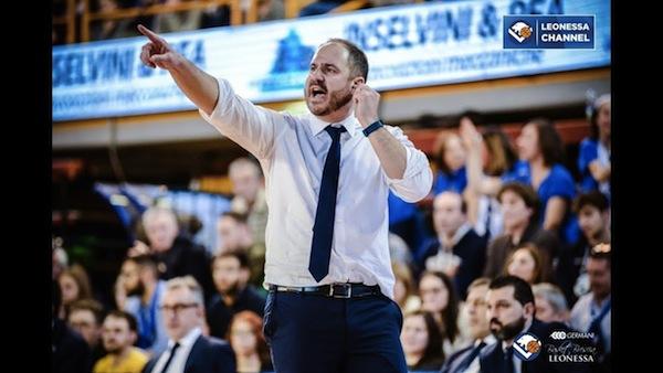 Lega A PosteMobile 2017-18: coach Diana e la sua grande fiducia nella Germani Brescia nella trasferta a Capo d'Orlando