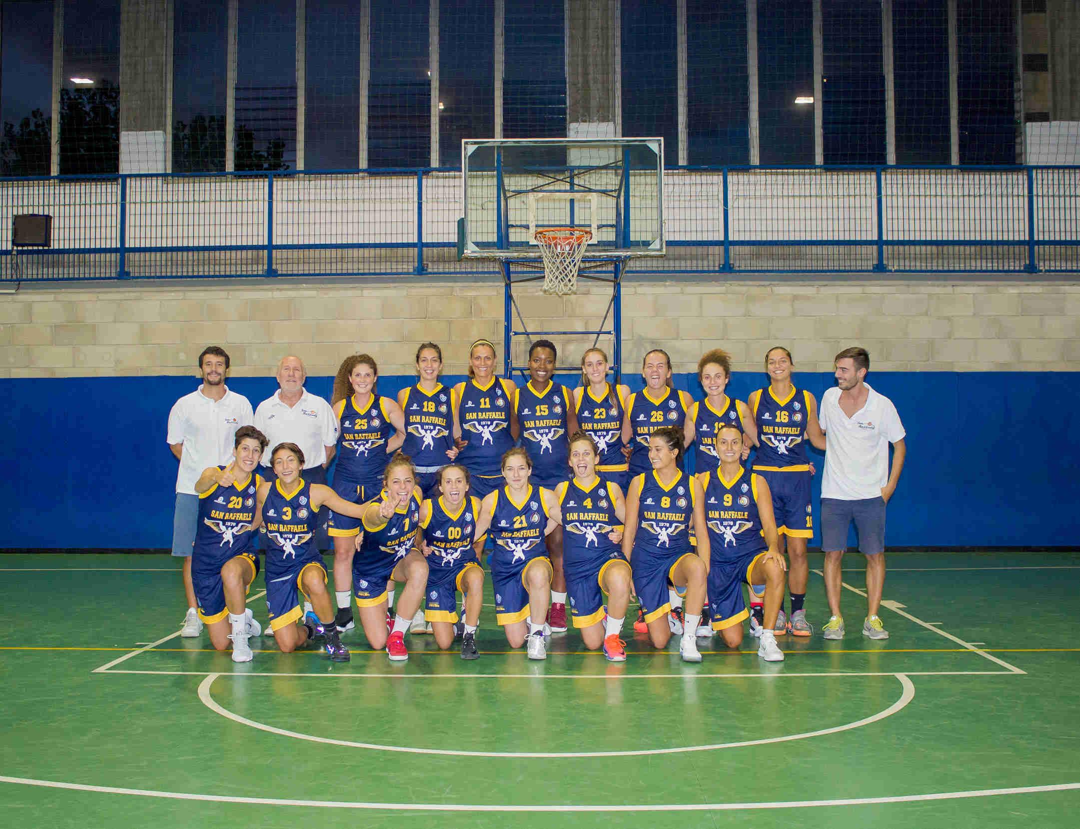 Lega A2 Femminile Gu2to Cup 2017-18: il San Raffaele Basket attende la capolista Use Empoli Rosa