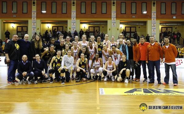 Lega A1 Basket Femminile: la grande amichevole di lusso tra Fila San Martino ed Ekaterininburg