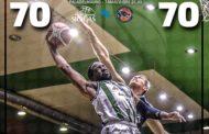 FIBA Europe Cup 1 Round of 16 2071-18: finisce in pareggio la prima sfida tra Avellino e il Tsmoki Minsk al PalaDelMauro
