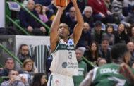 FIBA Europe Cup 1 Round of 16 2071-18: nel primo match dei sedicesimi Sassari soffre per tre quarti ma poi allunga a +17 vs l'ESSM Le Portel