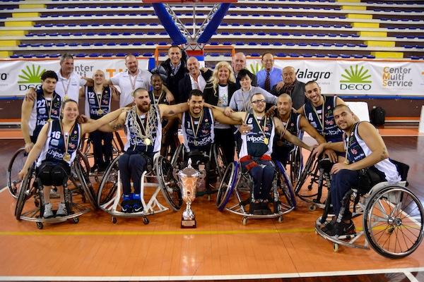 Basket in carrozzina Fipic 2018: domenica 25 marzo si assegna la Coppa Italia