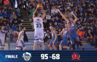 A2 Ovest Old Wild West 2017-18: si scuote la Leonis Eurobasket Roma che travolge una Pasta Cellino Cagliari poco avvezza al combattimento