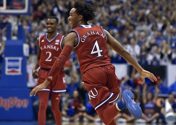 NCAA March Madness 2018: Final Four #3, Devontè Graham l'All-America dei Kansas Jayhawks nato nella città del basket