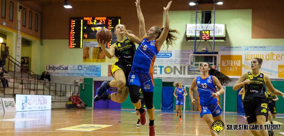 Lega A2 Femminile girone Nord 2017-18: altro colpaccio esterno per la Fanola Lupebasket che espugna Pordenone