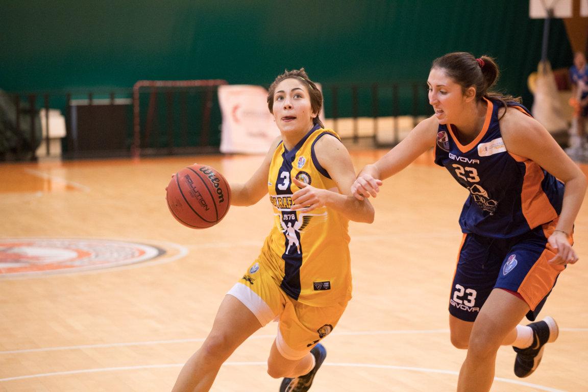 Lega A2 Femminile girone Sud 2017-18: sconfitta del San Raffaele Basket vs la Cestistica Savonese