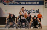 Basket in carrozzina #SerieA1Fipic 2017-18: il big-match dell'ultimo turno è dell'UnipolSai Briantea84 che piega S.Stefano 63-50