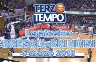 Lega A PosteMobile 2017-18: Terzo Tempo di Germani Basket Brescia-Happy Casa Brindisi 74-60