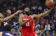 NBA 2017-18 nella notte del 18 Marzo Harden trascinatore con 34 punti e 12 assists