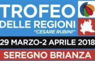 Giovanili 2018: la prima giornata del Trofeo delle Regioni in Brianza organizzato dal CR Lombardia