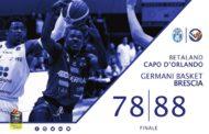 Lega A PosteMobile 2017-18: la Germani Basket Brescia passa a Capo D'Orlando con Super Landry che batte Super Stojanovic