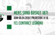 Serie A2 Ovest Old Wild West 2017-18: la Mens Sana ospita Legnano per uscire definitivamente dalla zona playout