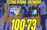 A2 Est Old Wild West 2017-18: Verona travolge Orzinuovi e resta in zona playoff