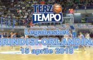 Lega A PosteMobile 2017-18: Terzo Tempo di Happy Casa Brindisi-Betaland Capo D'Orlando 74-75